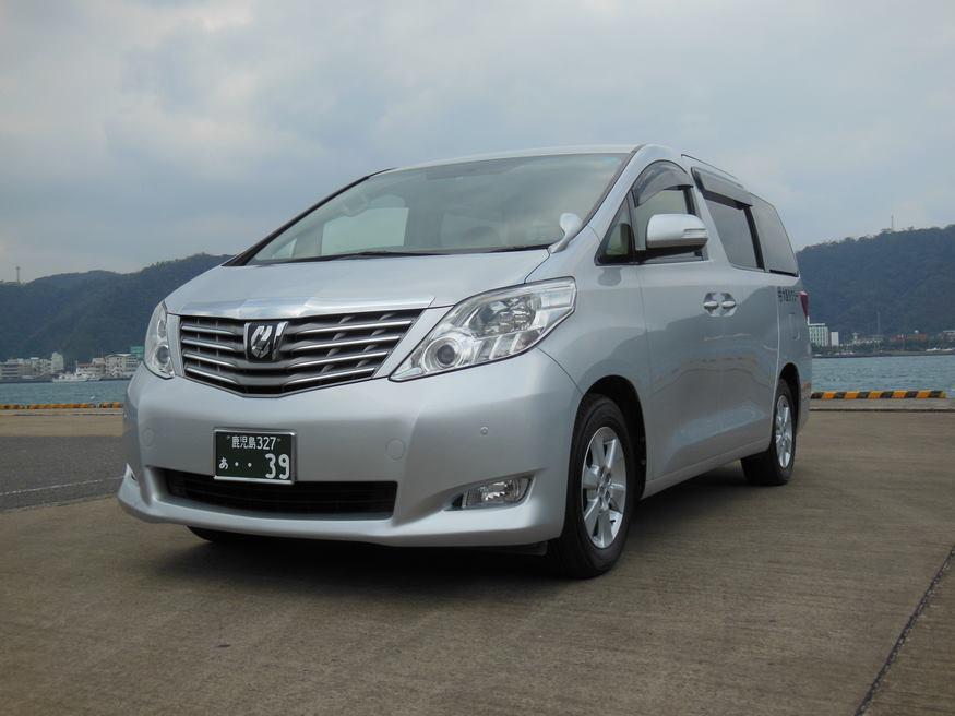大島タクシー車両紹介 ワンボックスタイプ写真