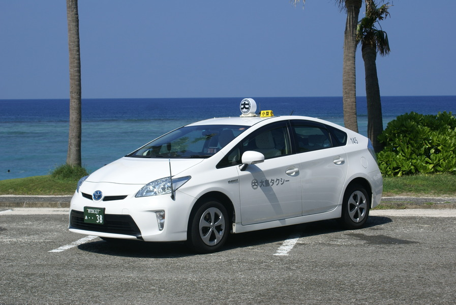 大島タクシー 車両紹介 プリウス写真