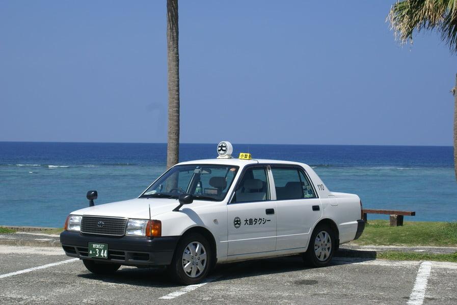 大島タクシー車両紹介コンフォート 乗車定員4名 の写真