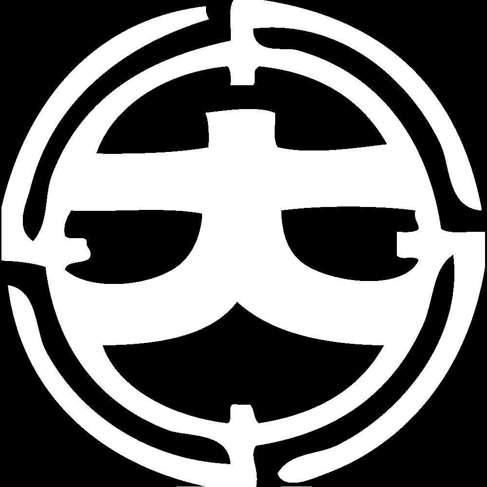 大島タクシーロゴ画像 ホワイト