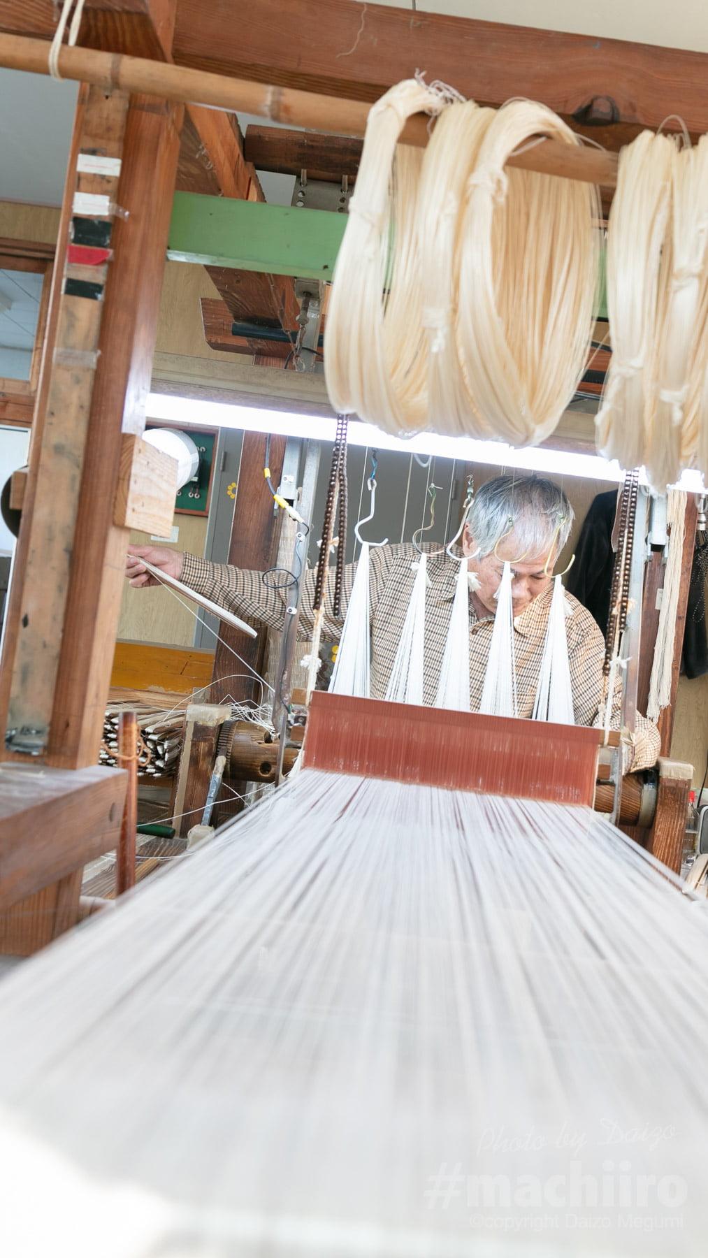 本場奄美大島紬 製造工程の写真