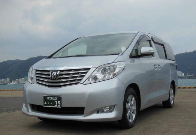 奄美大島観光 大島タクシー車両紹介 ワンボックスタイプ写真