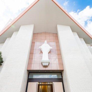 カトリック名瀬聖心教会