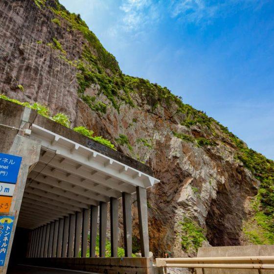 徳浜の断崖 奄美大島観光 大島タクシー